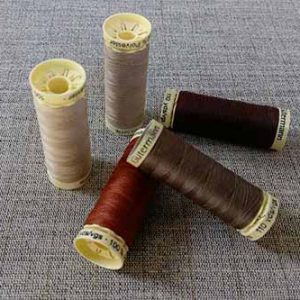 Gutermann Sew-All Brown & Beige colours