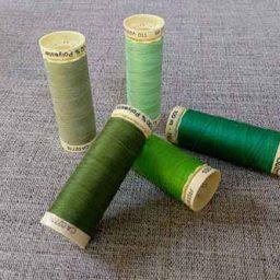 Gutermann Sew-All Green Colours