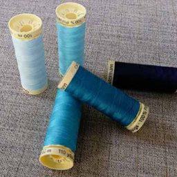Gutermann Sew-All Blue colours