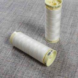 Gutermann Sew All Thread Col. 169 (Cream)
