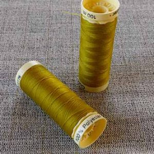 Gutermann Sew All Thread Col. 286 (Gold)