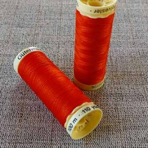 Gutermann Sew All Thread Col. 351 (Orange)