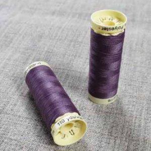 Gutermann Sew All Thread Col. 128 (Dusky Purple)