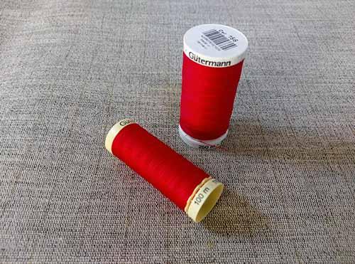 Gutermann Sew All Thread Col. 156 (Red)