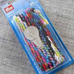 Prym sewing thread plait, needle + threader