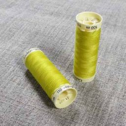 Gutermann Sew All Thread Col. 177 (Yellow)
