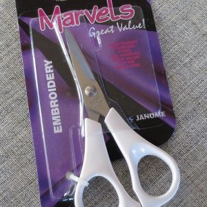 Janome embroidery scissors: 12cm/4.75""