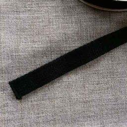 20mm cotton webbing (black)