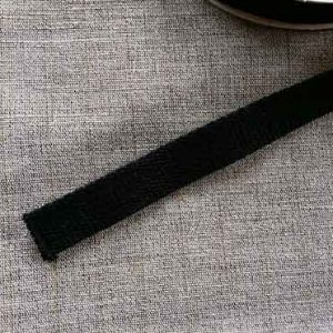 20mm cotton webbing (black)