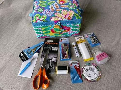 Luxury sewing box