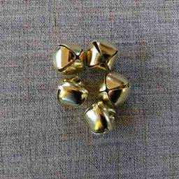 Brass jingle bells (18mm)