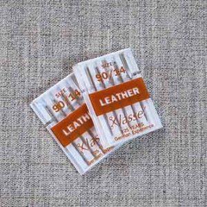 Machine needles, leather, 90/14