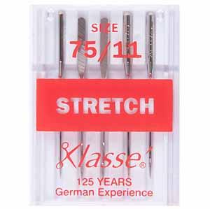 Machine needles, stretch, 75/11