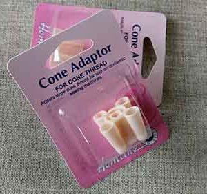 Plastic cone adaptor