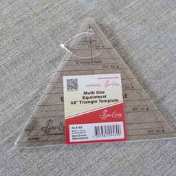 Quilt template: triangle