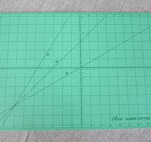"Clover self-healing cutting mat: 18"" x 24"""