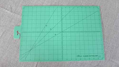 """Clover self-healing cutting mat: 18"""" x 24"""""""