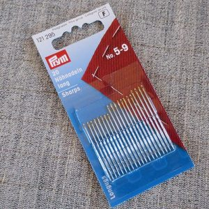 Prym sewing needles, sharps, sizes 5 - 9