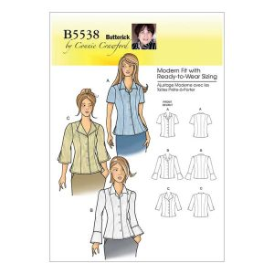 Butterick shirt pattern B5538