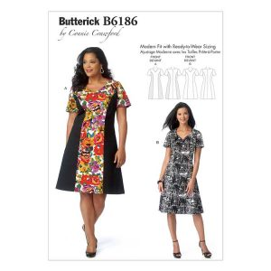 Butterick Dress B6186