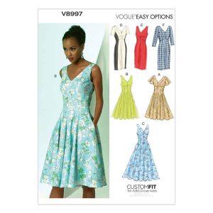 V8997 Misses' dress