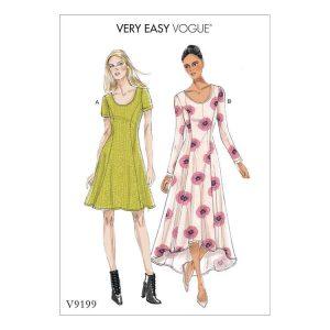 V9199 Misses' dress