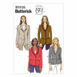 B5926 Misses'/Misses' Petite Jacket