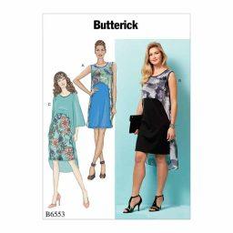 B6553 Misses' Dresses