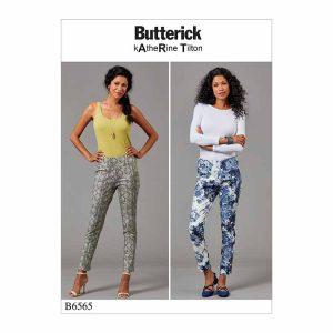 B6565 Misses' Jumpsuit and pants