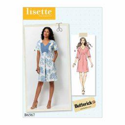 B6567 Misses' Dress