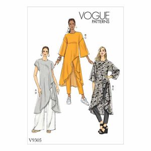 V9305 Misses' Tunic and Pants