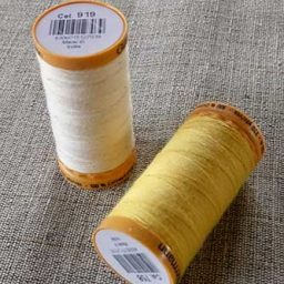 Gutterman 100% cotton tacking thread