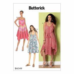 B6349 Misses' Dress