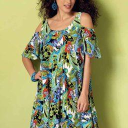 B6350 Misses' dress