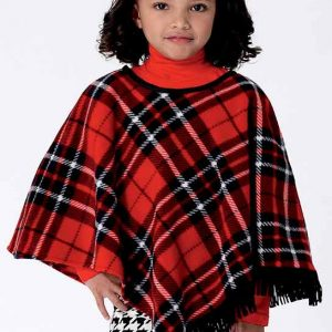 B6373 Childrens'/Girls' capes and poncho