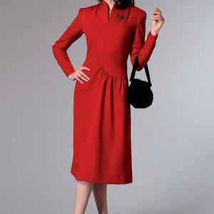 B6374 Misses' dress