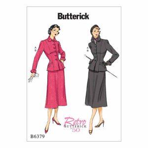 B6379 Misses'/Misses' Petite Jacket and Skirt