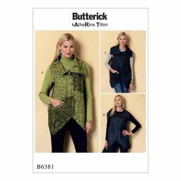 B6381 Misses' vest