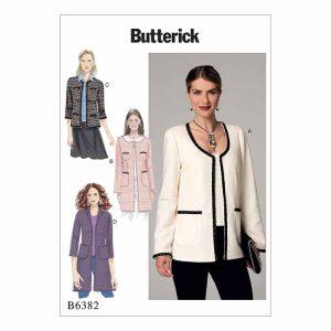 B6382 Misses' jacket