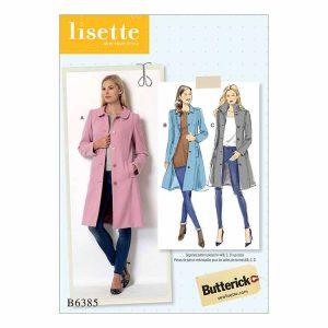 B6385 Misses' coat