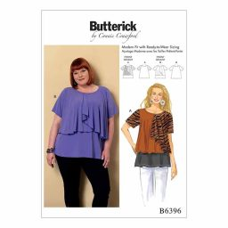 B6396 Misses'/Womens' pullover top