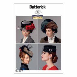 B6397 Vintage-inspired hats