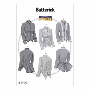 B6400 Misses' 1800's inspired jackets