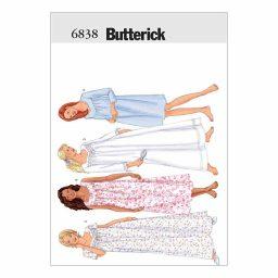 B6838 Misses' / Misses' petite nightgown