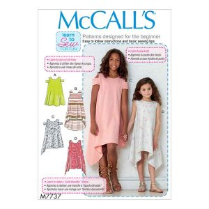 M7737 Children's/Girls' Dresses