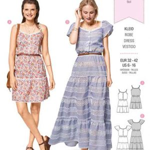 Burda Style Pattern B6403 Women's Sun Dress in Length Variations