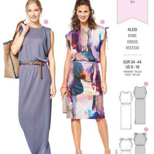 Burda Style Pattern B6414 Women's Sleeveless Dresses
