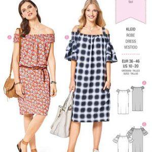 Burda Style Pattern B6422 Women's Casual Dresses