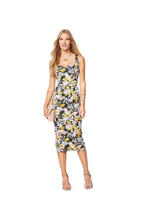 4087e826 Burda Style Pattern B6423 Women's Summer Strap Dress - Sew Irish