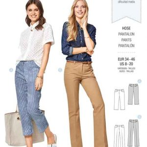 Burda Style Pattern B6432 Women's Dress Trousers